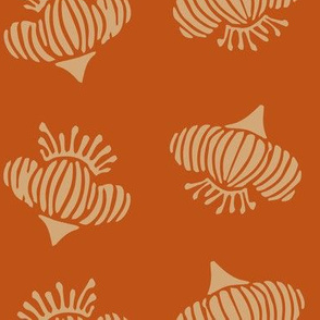 Pincushion - Pumpkin (larger)