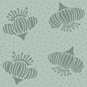 Pincushion Dots - Sage (larger)