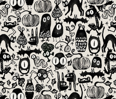 Gothic Halloween Monsters