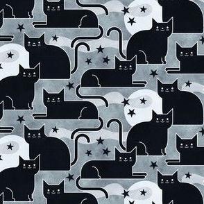 Black Cats Mini- Small Scale- Face Mask