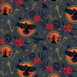 Gothic Ravens & Roses