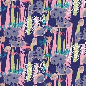 Forest Floor Striped Gums Blue