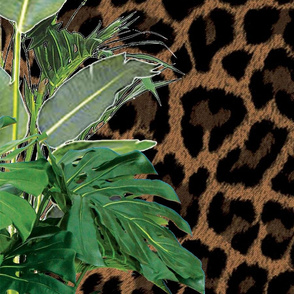 Jungle Leopard 97cm