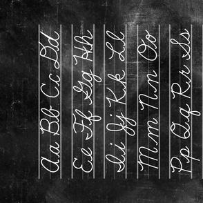 Cursive Handwriting Alphabet