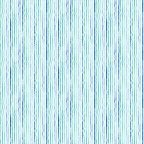 watercolor stripes blue mint lavender green