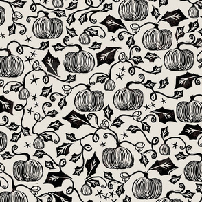Vintage Pumpkin Print