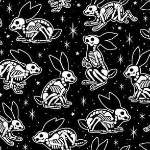 Rabbit Skeletons Black