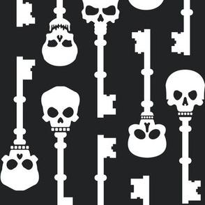 Skeleton Keys | Black & White