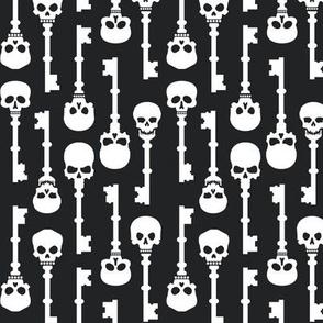 Skeleton Keys | Black & White (1/2 scale)