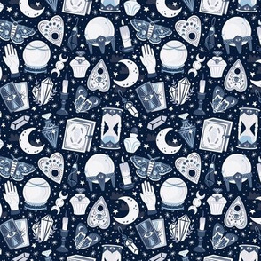 Mystical Dark Blue | Small Scale