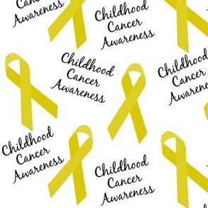 Childhood Cancer Awareness Ribbons