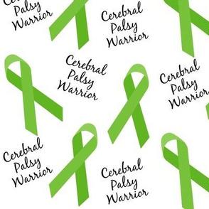 Cerebral Palsy CP Warrior Ribbons
