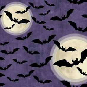 Gothic Bats and Full Moons