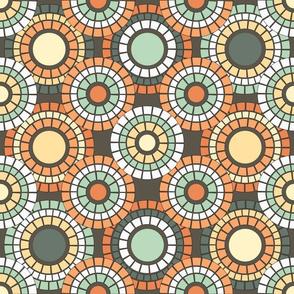 Autumn Terrace Mosaic
