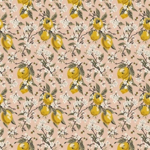 Bees & Lemons - Blush - Small