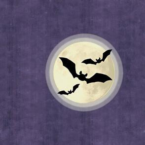 Bats on Full Moon Panel