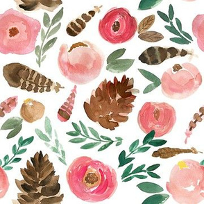 Woodland Florals - small