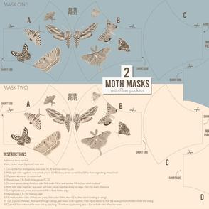Two Moth Masks
