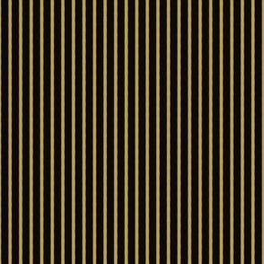 Halloween Stripe - Gold Black - Poisonous Flowers Coordinate