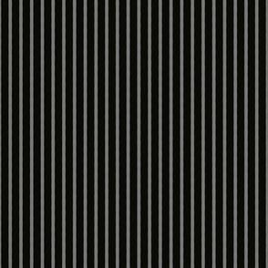 Halloween Stripe - Grey Black - Poisonous Flowers Coordinate