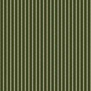Halloween Stripe - Wormwood Green - Poisonous Flowers Coordinate