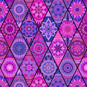 Diamond Mandalas--Pink and Purple
