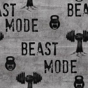 Beast mode gritty concrete texture
