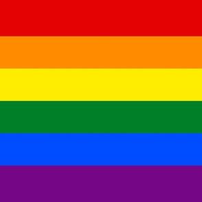 Gay flag for mask