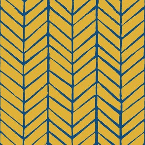 goldenrod herringbone