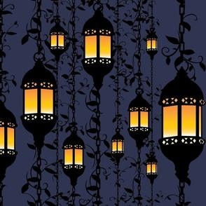 Glowing Gothic Lanterns