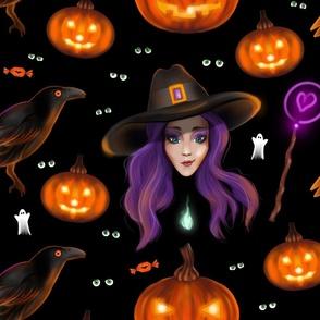 Beauty-and-Raven-GothicHalloween