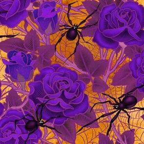 Gothic Web of roses