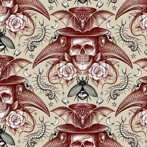 Skull & Plague Mask