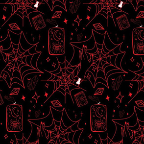 Gothic Halloween Red
