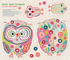 Hoot and Screech Cut and Sew Softies