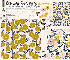 Beeswax Food wrap organic