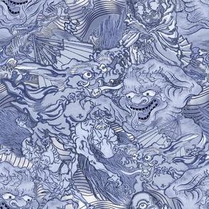 JAPANESE DEMONS BLUE