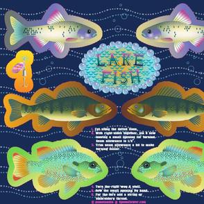 Lake Fish-Cut & Sew