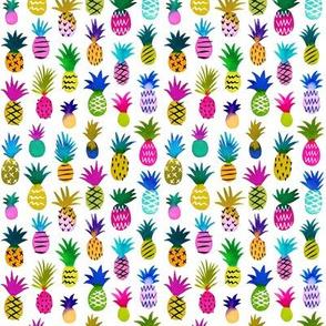 Pineapple Fun / White / Micro Scale
