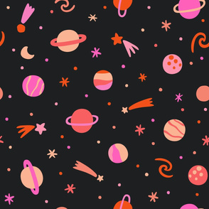 Planets Pink