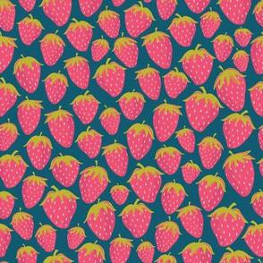 Strawberries Navy