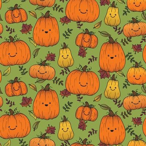 Pumpkin patch - Green