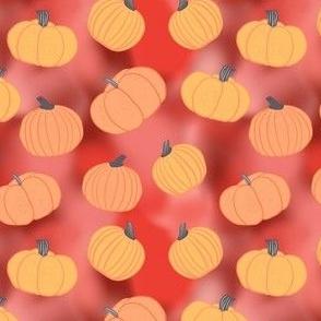 Tie Dye Pumpkins