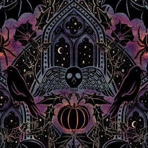 Gothic Halloween - Celestial Rainbow -  medium scale