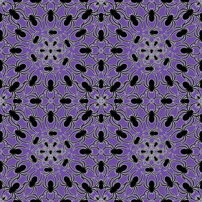 Spider Lace Purple small