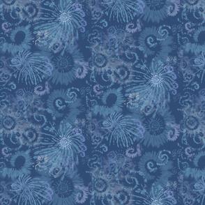 Dark Blue Tie Dye