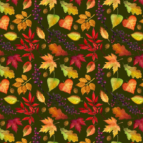 """8"""" Vibrant Fall 