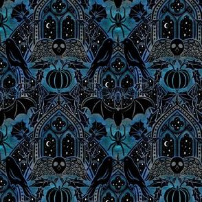Gothic Halloween - Eerie blue - medium
