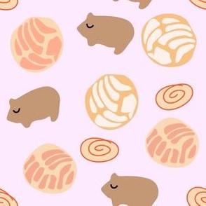 pan dulce pattern pink