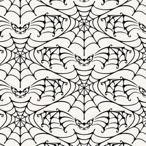 gothic bat (off-white)
